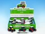 Traktor kov 9 cm na baterie