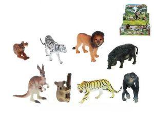 Zvířátka safari plast 7,5 - 13 cm