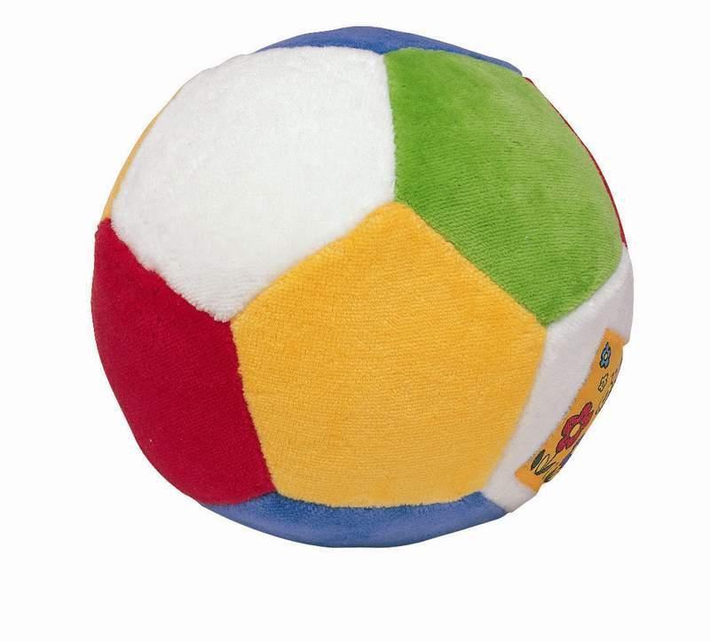 Pestrobarevný měkký míč
