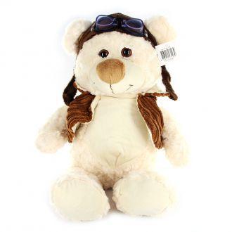 Medvěd letec plyšový 23 cm sedící 0+