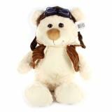 Medvěd letec plyšový 33 cm sedící 0+