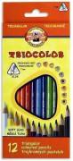 Pastelky trojhranné Triocolor