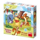 Puzzle maxi Medvídek Pú