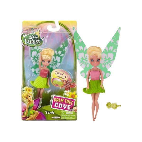 Disney Fairy - 11cm základní panenka Zvonilka Tropical