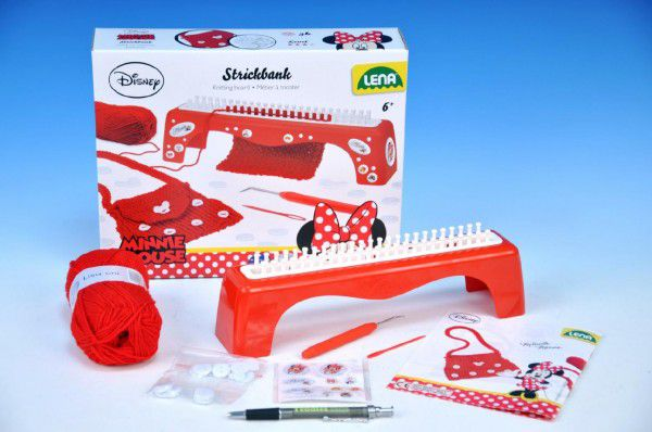 LENA - Pletací stůl Minnie + pletení