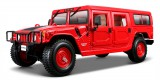 Maisto Hummer 4-Door Wagon 1:18 červená