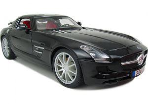 Maisto Mercedes Benz SLS AMG 1:18 černá