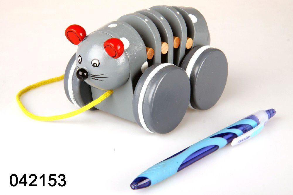 Tahací myška 12m+
