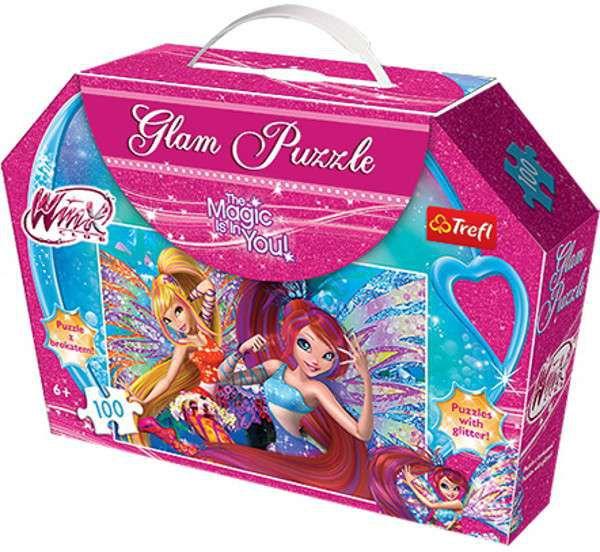 GLAM puzzle Winx Club Magické víly