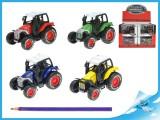 Traktor 8cm kov PB 4 barvy