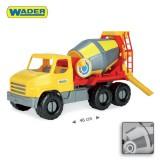 Auto City truck 43cm 5 druhů - míchačka