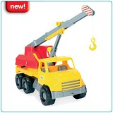 Auto City truck 43cm 5 druhů - jeřáb