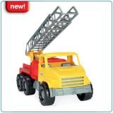 Auto City truck 43cm 5 druhů - auto se žebříkem