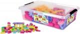 Kostky s kolečky v krabici pro holky 132 ks