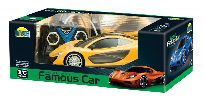 Dromader - Auto Famous Car 1:16 + pack