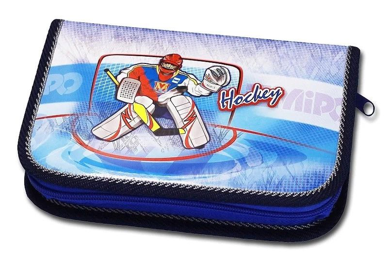 Školní penál 1-klopa Hockey