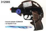 GONHER moderní černá kovová pistole