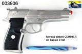GONHER VZ.39 stříbrná policie kovová pistole