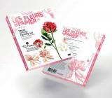Papírové květiny Twist Art - Červená růže
