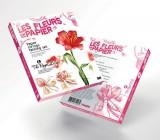 Papírové květiny Twist Art - Červený tulipán