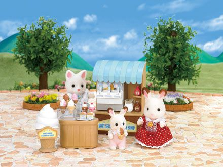 Sylvanian Families - Obchod s točenou zmrzlinou