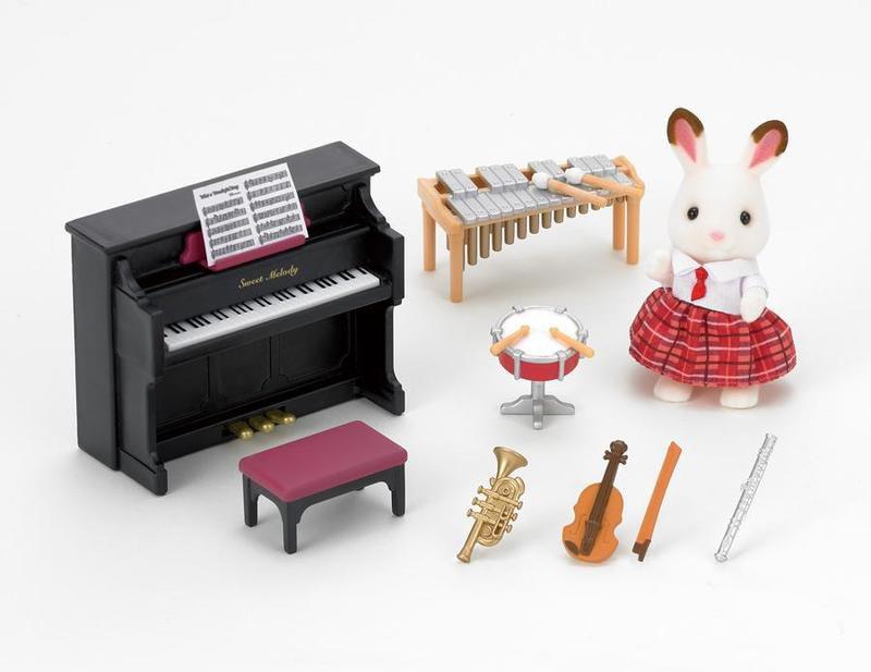 Sylvanian Families - Školní hudební pomůcky set