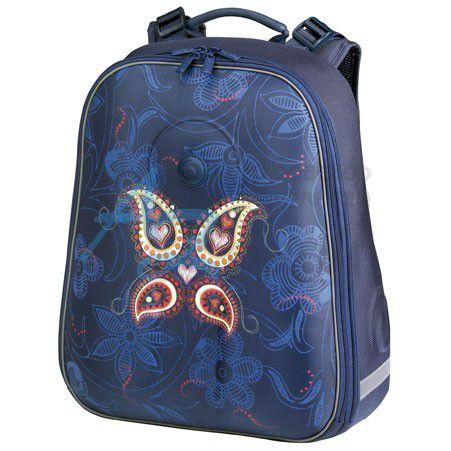 Batoh  be.bag  školní S Paisley Motýl