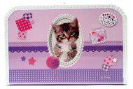 Kufřík dětský Pretty Pets kočka