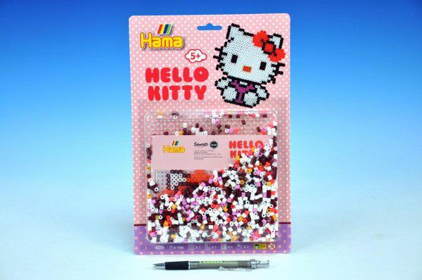 Zažehlovací korálky Hello Kitty MIDI