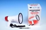 Megafon se sirénou 22 cm na baterie
