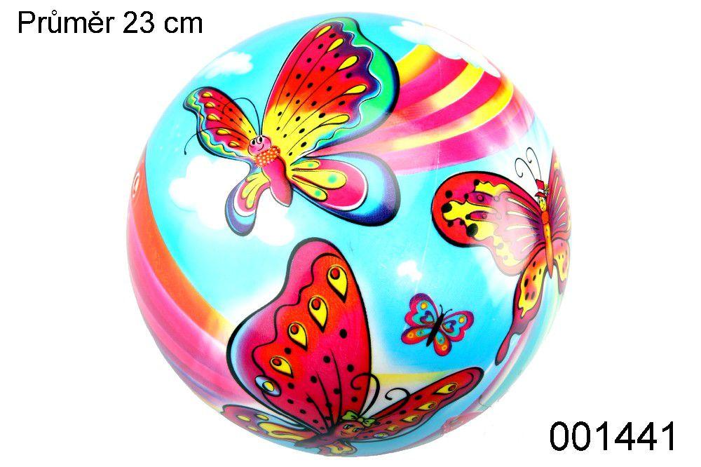 Míč STAR 23cm Motýlci