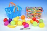 Nákupní košík ovoce plast 20ks
