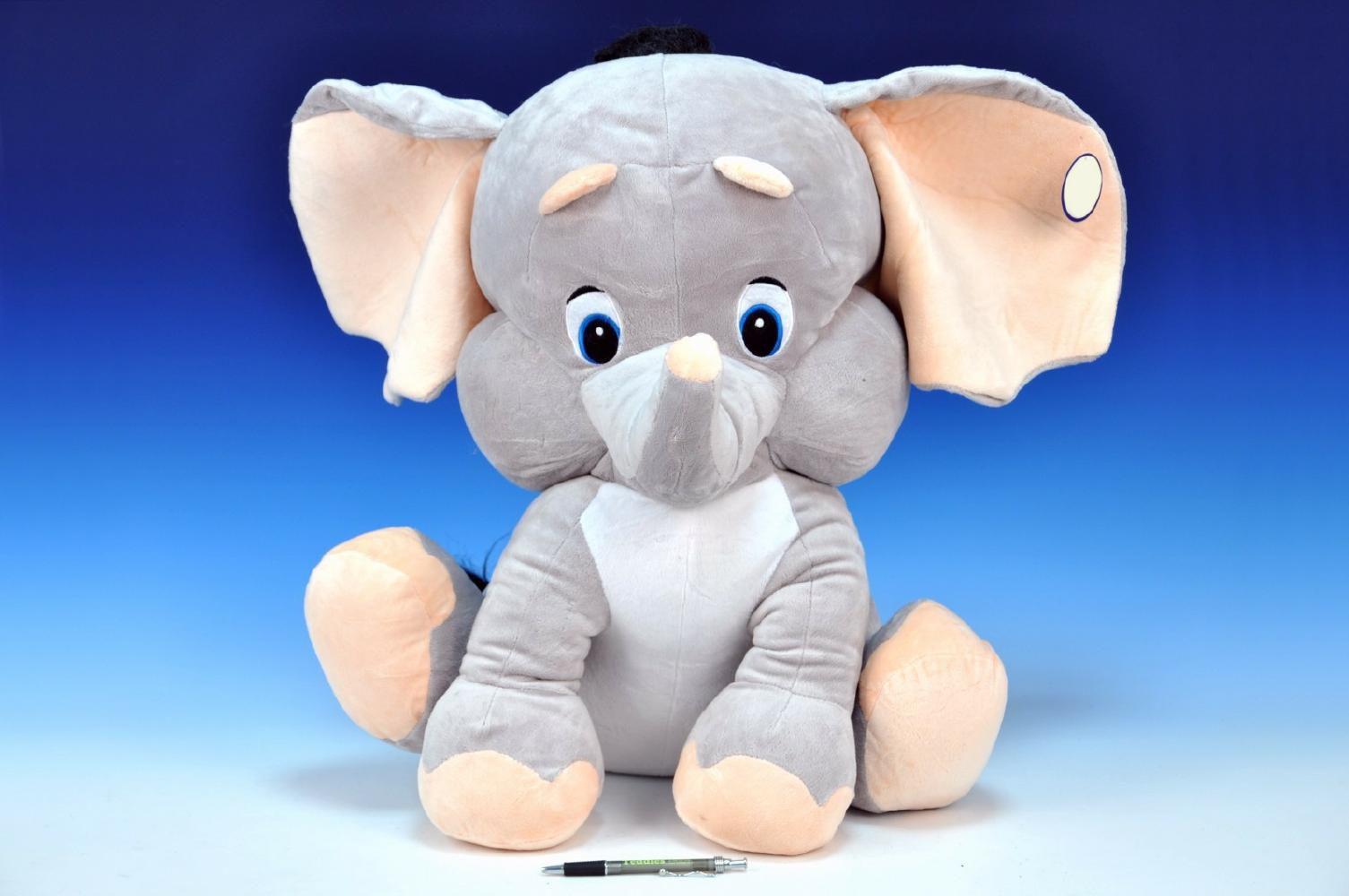 Bambilon Slon plyš 60cm sedící od 0 měsíců