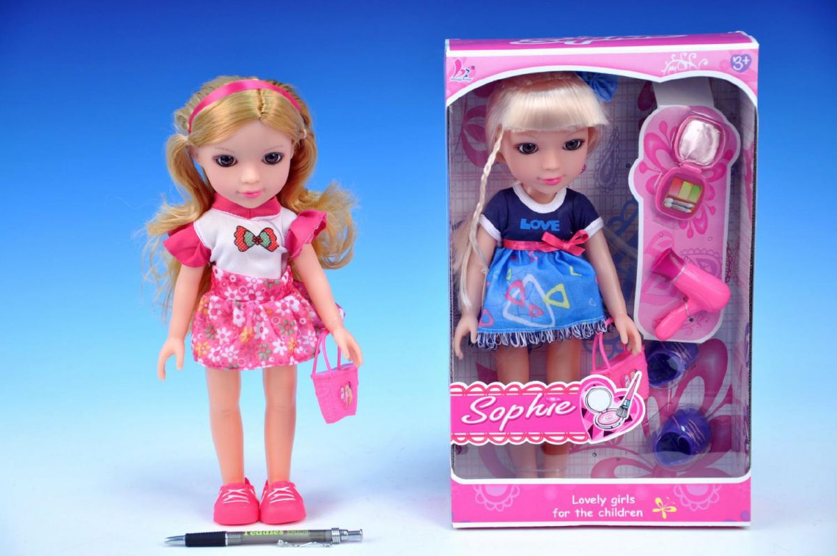 Panenka Sophie 30cm s doplňky