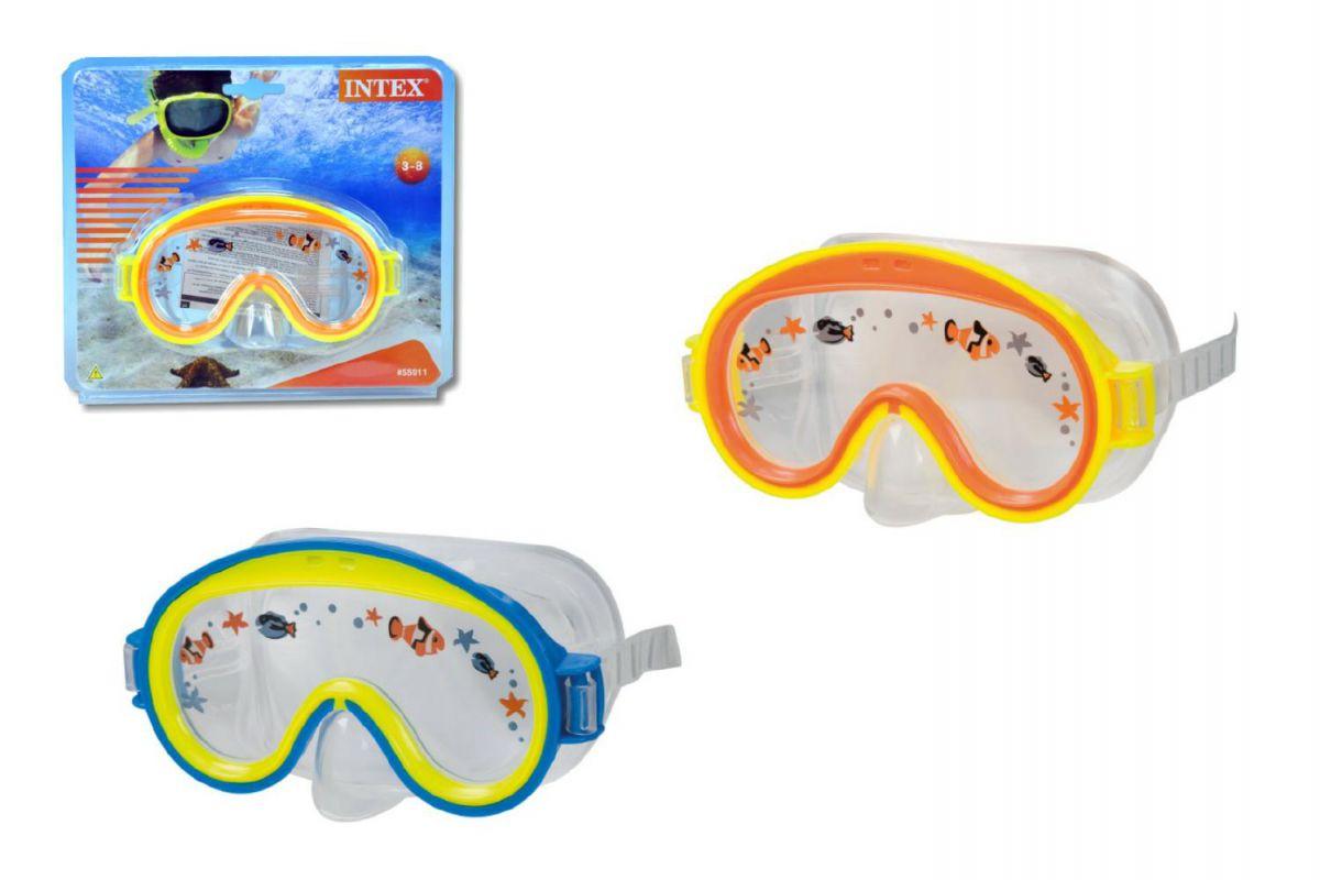 Potápěčské brýle dětské asst na kartě 3-8 let TEDDIES