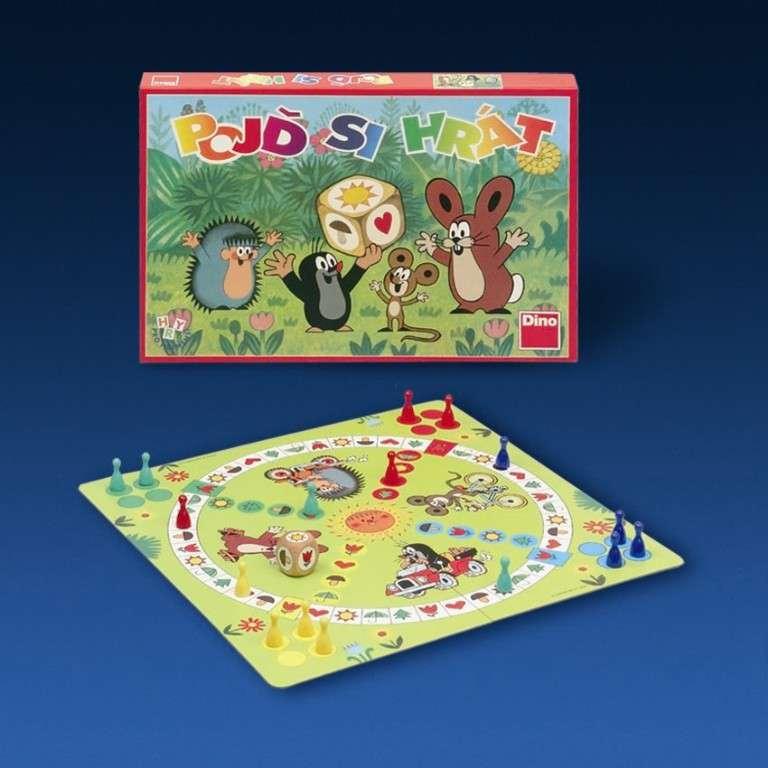 DINO - Pojď si hrát Krtek