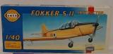 """Modely Směr - Letadlo Fokker S 11 """"Instruktor """""""
