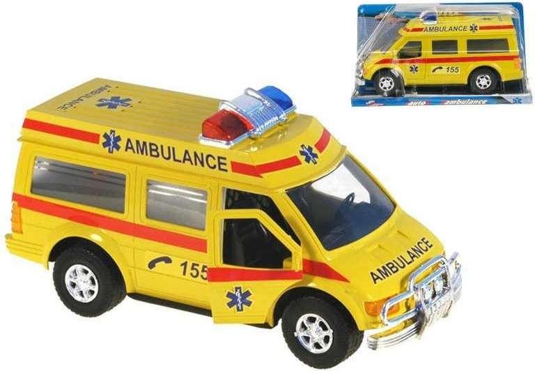 Auto záchranáři 27 cm na setrvačník