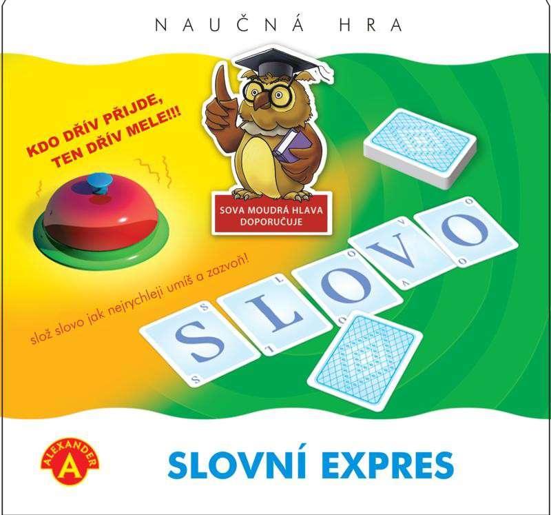 Slovní expres - dětská slovní hra