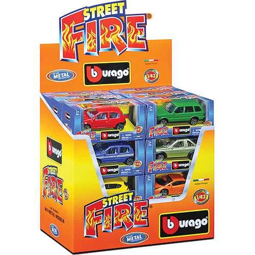 Bburago 1:43 Street Fire