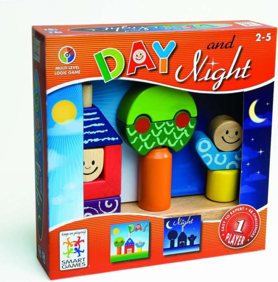 Mindok SMART Den a noc - logická hra, hlavolam