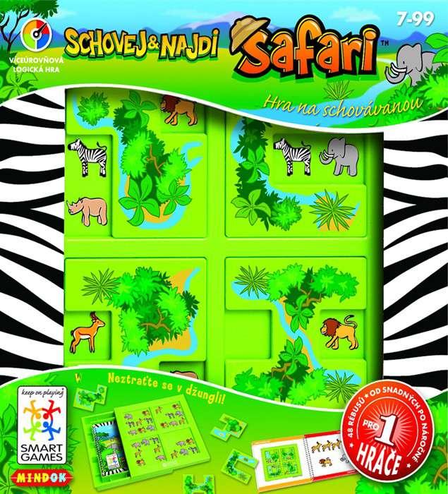 Mindok SMART Safari - logická hra, hlavolam