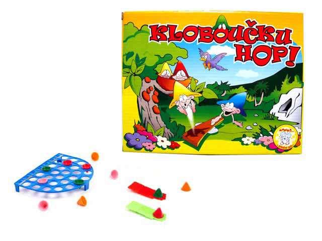 Kloboučku Hop - společenská, stolní hra