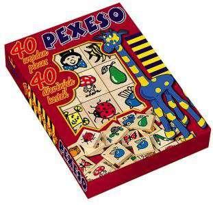 Detoa - Pexeso 40 dřevěných kostek