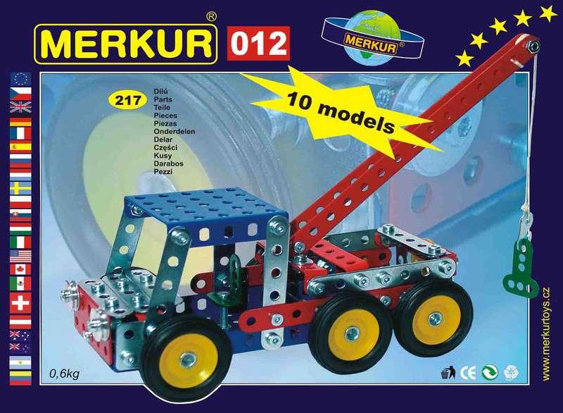 Česká kovová stavebnice - MERKUR 012 Odtahové vozidlo