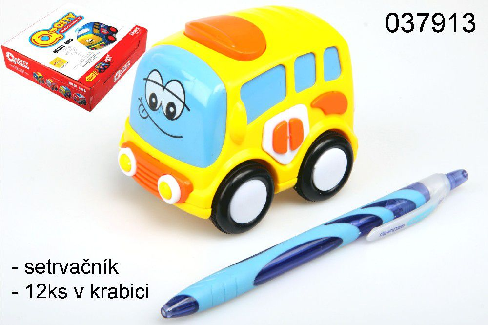 Autobus Q-City na setrvačník