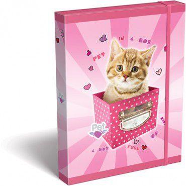 Box na sešity A4 Pes/Kočka