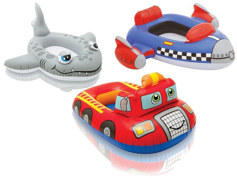 Člun raketa/žralok/auto nafukovací v sáčku