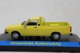 Kovový model Dacia 1300 PickUp žlutý 1:43