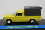 Kovový model Fiat 125P PickUp žlutý 1:43